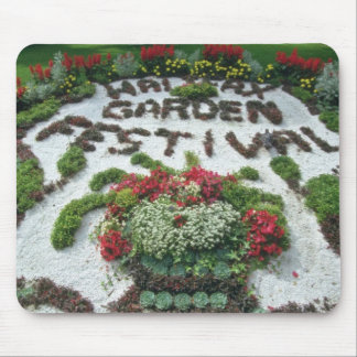 White Halifax Garden Festival flowers Mouse Pad