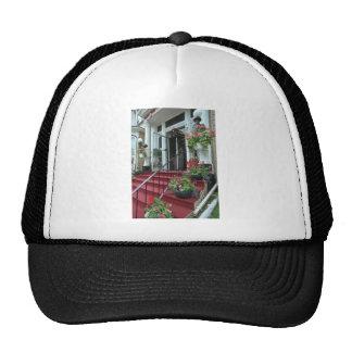White Halifax Inn flowers Trucker Hat
