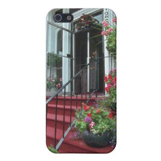 White Halifax Inn flowers Case For iPhone 5
