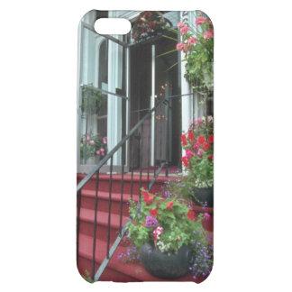 White Halifax Inn flowers iPhone 5C Cases