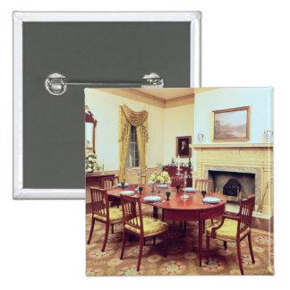 White Hall Dining-Room, near Charleston Pinback Button