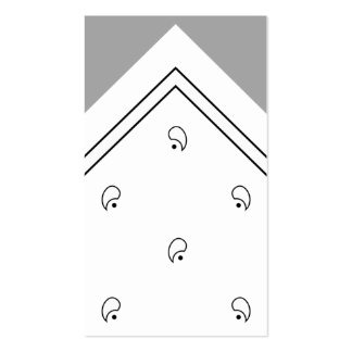 White Hanky Trick Card / Business Card
