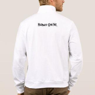 White Hardazz zip up work out jacket