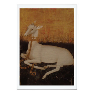 White Hart on Gold Card