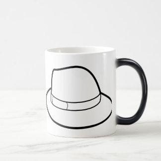 White Hat Color Changing  Hat Belt & Mug Mug