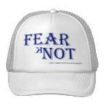 White Hat With Fear kNot Logo