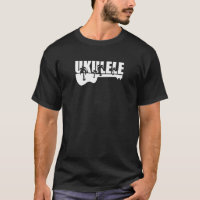 white hawaiian ukulele T-Shirt