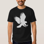 White Hawk Swooping Down for a Kill T Shirt