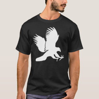 White Hawk Swooping Down for a Kill T-Shirt