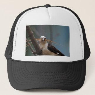 White-headed Buffalo Weaver Trucker Hat
