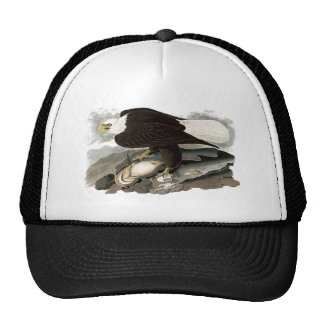 White Headed Eagle | John James Audubon Trucker Hat