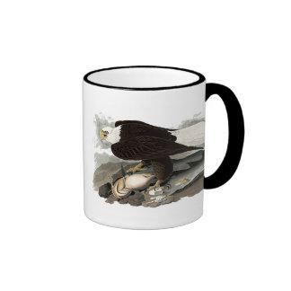 White Headed Eagle | John James Audubon Ringer Mug