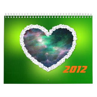 White heart Nebula Calendar