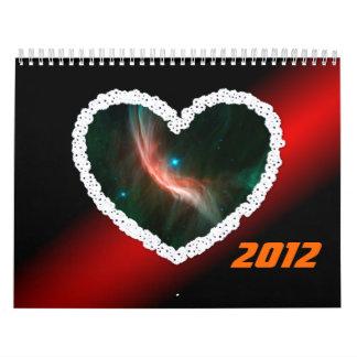 White heart Zeta Calendars