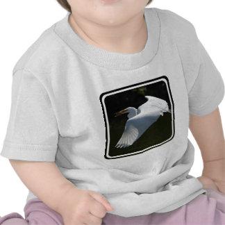 White Heron Baby T-Shirt