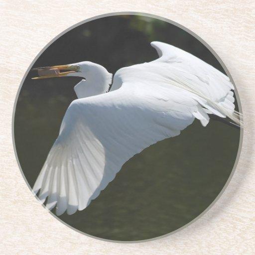 White Heron Coaster