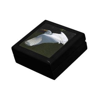 White Heron Gift Box