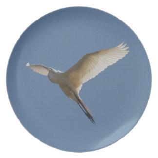 White Heron Plate