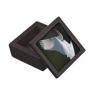 White Heron Premium Gift Box