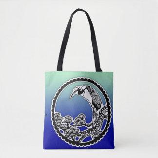 White Heron Sangha Tote Bag