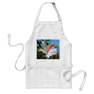 White Hibiscus Apron