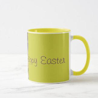 White Hibiscus Pastel Easter Mug