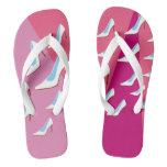 White High Heels & Pink Flip Flops