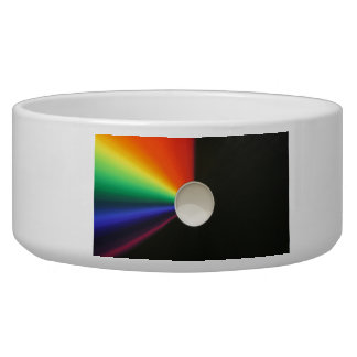 White hole abstract bowl
