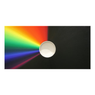 White hole abstract photo cards