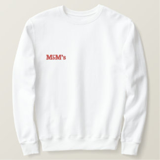 White hoodie Red lettering mothering mentor