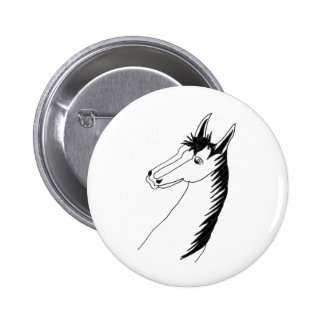 WHITE HORSE 1.PNG PINBACK BUTTONS