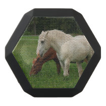White Horse Animal Black Bluetooth Speaker