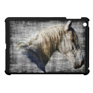 White Horse, Animal, Equine, Horse lover Cover For The iPad Mini