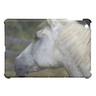 White Horse Animal iPad Case