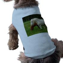 White Horse Animal T-Shirt