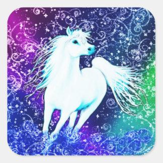 White Horse Arabian Myth Stickers
