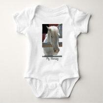 White Horse Beauty Baby Bodysuit