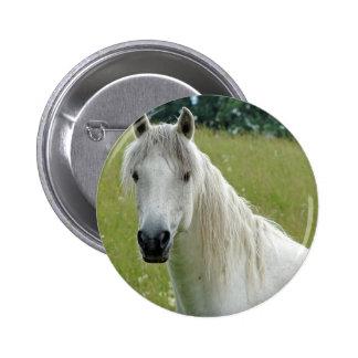 White Horse Button