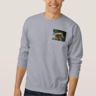 White Horse Closeup Pull Over Sweatshirts