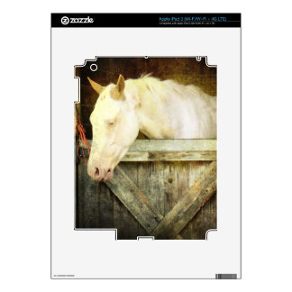 White Horse Decal For iPad 3