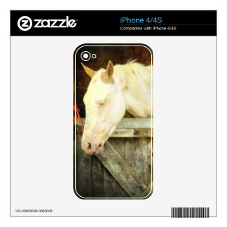 White Horse Decals For The iPhone 4S