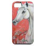 White Horse Design iPhone 5 Case