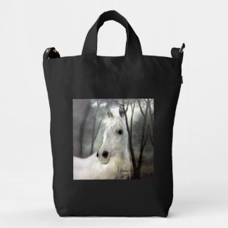 White Horse Duck Bag