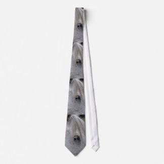 White Horse Eye Equine Designer Gift Tie