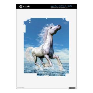 White horse freedom - 3D render Skin For iPad 3