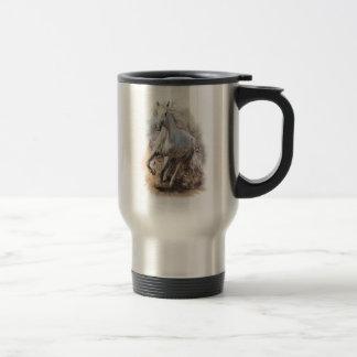 White Horse Gallop Travel Mug