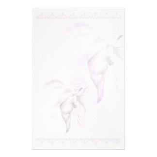 White Horse Head2 stationery_vertical.v2 Stationery