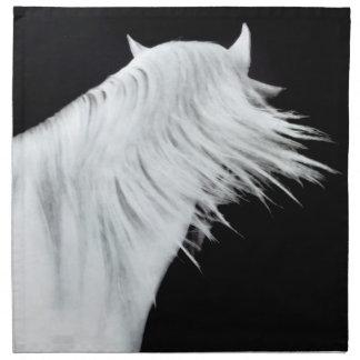 White Horse Head Napkin