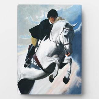 White Horse Head Plaque
