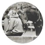 White Horse Head Plate